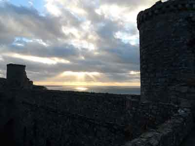 Harlech Castle - view from battlements