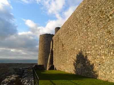 Harlech Castle - southern outer wall
