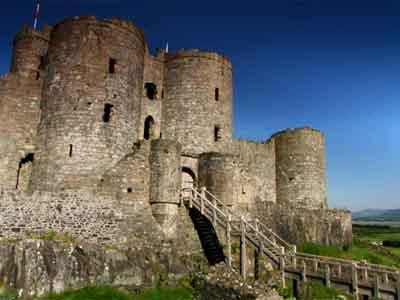 Harlech Castle's Gatehouse