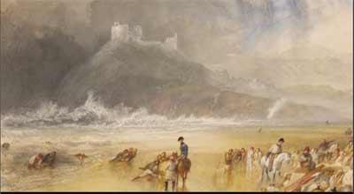 Criccieth Castle, 1835 - Joseph Mallord William Turner