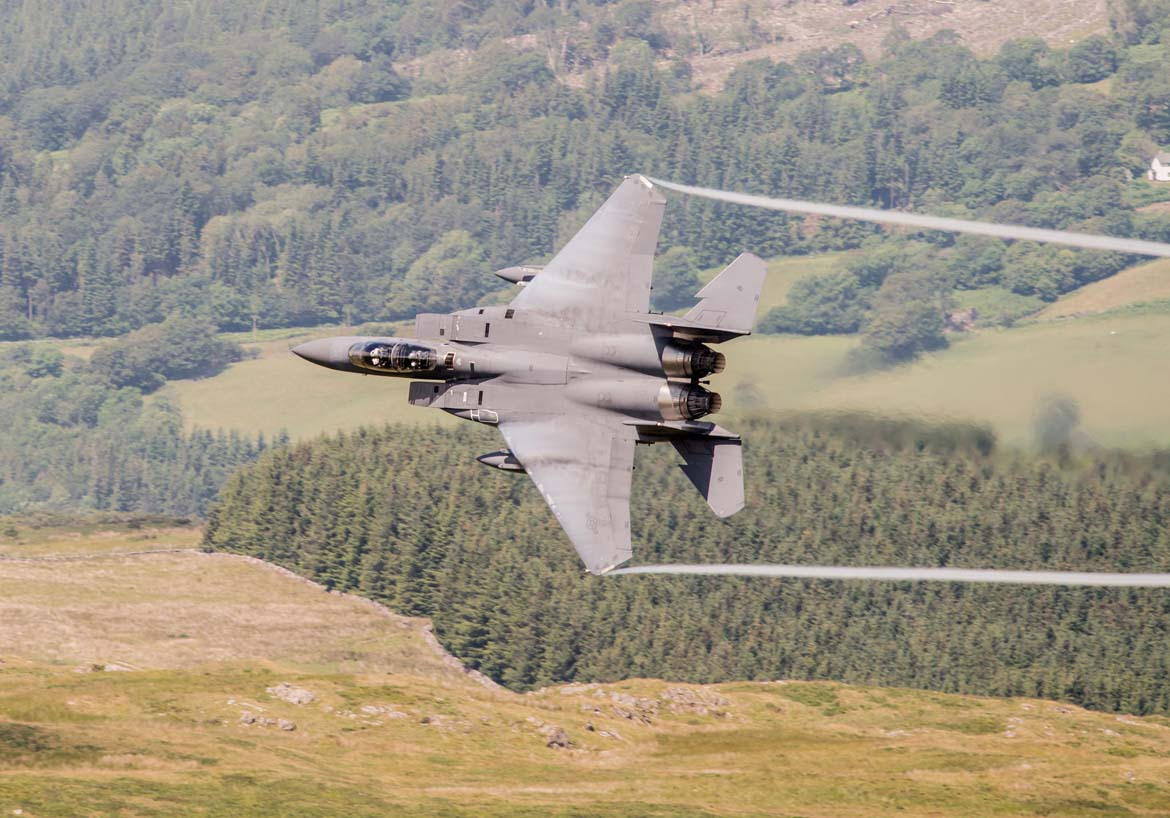 F15 on The Mach Loop