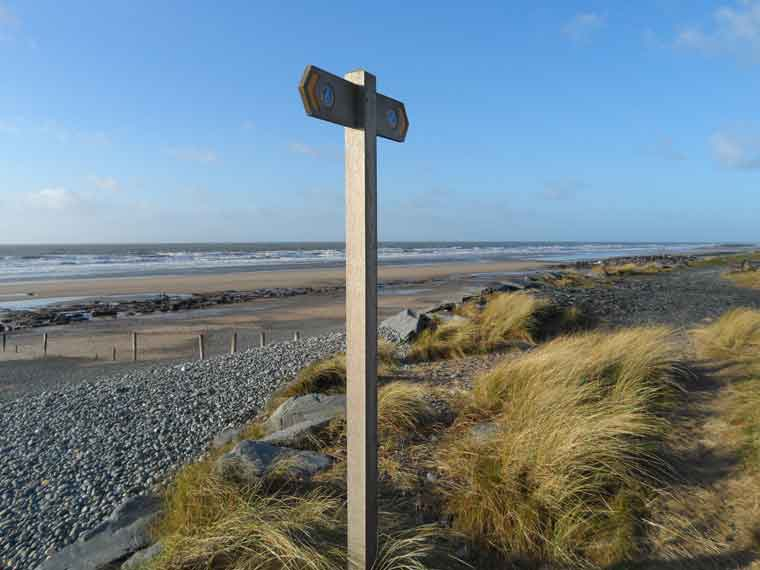 Image result for tywyn beach welsh coastal path